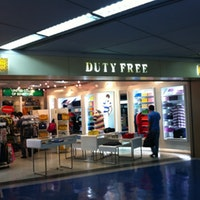 NAIA 1 duty free shop at the arrival extension area( 1 floor lower than main arrival area)