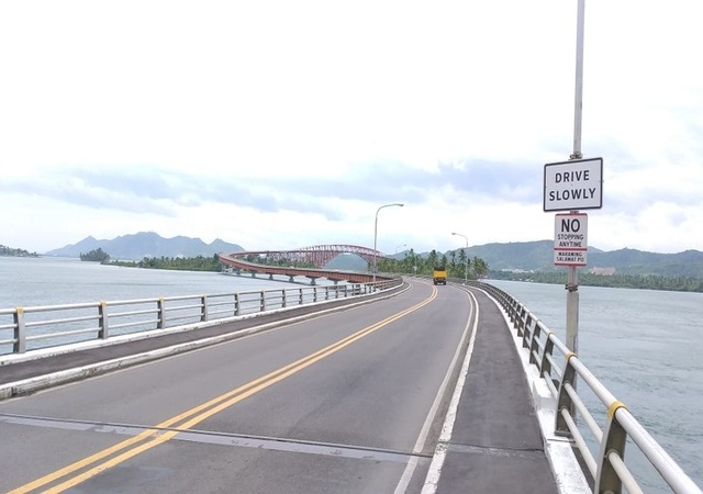 San Juanico Bridge Connecting Samar Leyte
